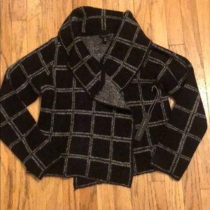 Carole Little cowl neck wool sweater